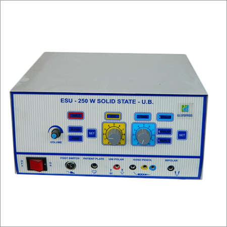 Surgical Cautery 250W Semi Digital Solid State