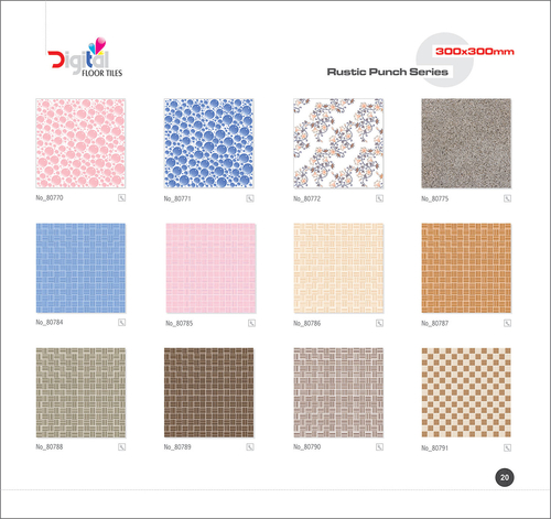 Varieties Ceramic Floor Tiles