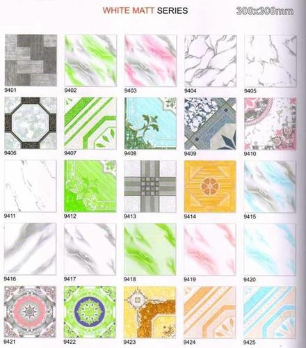 Matte Ceramic Floor Tiles