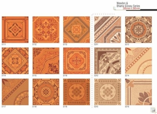 Wooden & Bhama Floor Tiles