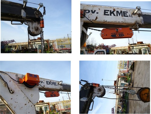 Load Movement Indicator (LMI) for Side Lift Cranes
