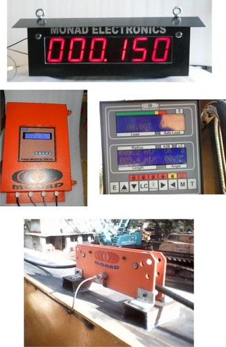 Load Movement Indicator (LMI) for Straddle Crane