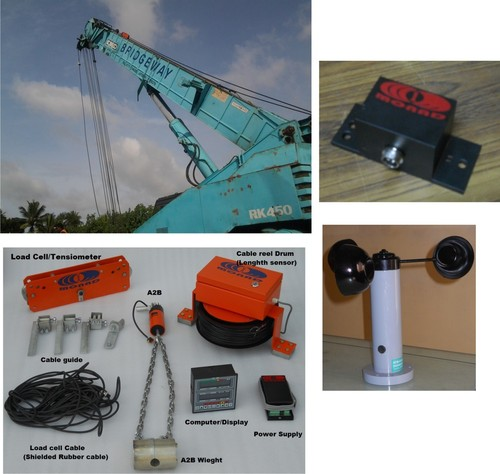 Load Movement Indicator (LMI) System for hydraulic cranes
