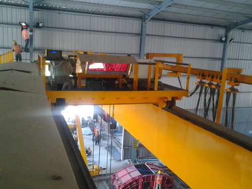 LMI system for Overhead Traveling Crane