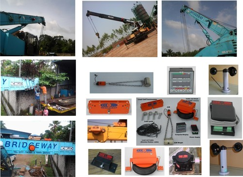 Load Movement Indicator (LMI) System for telescopic cranes