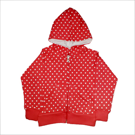 Infant Baby Girls Winter F/S Jacket Two Thread