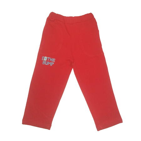Girls Embroidery Track Pant