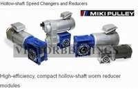 Miki Pulley Hollow shaft Speed Changers and Reducers