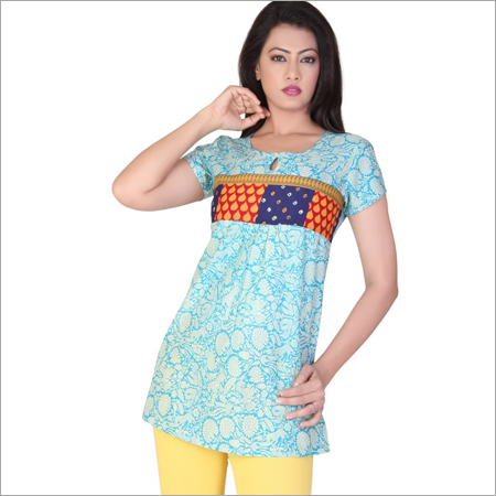 Short Designer Cotton Kurti