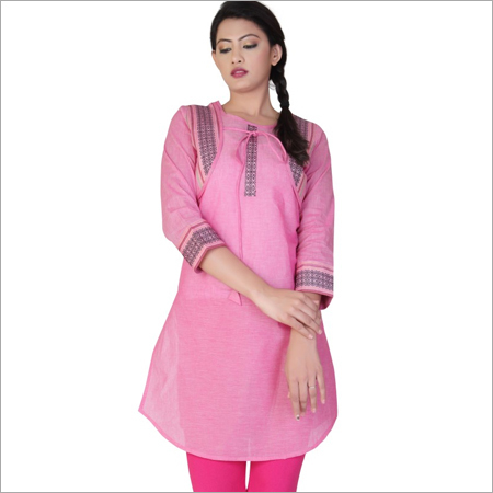 Knee Length Short Kurti