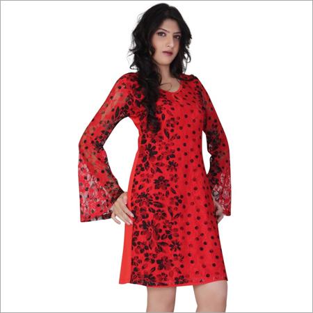 Red Short Dress