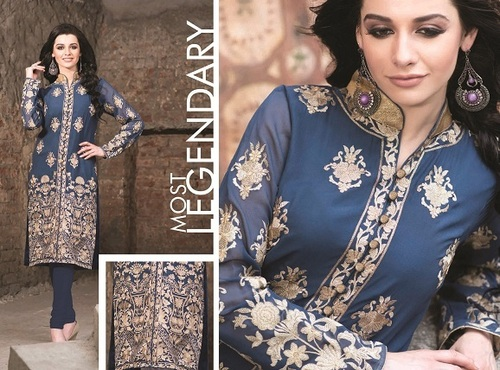 Latest Embroidered Kurti