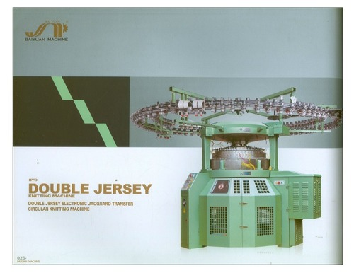Computerized Double Jersey Circular  Knitting Machine
