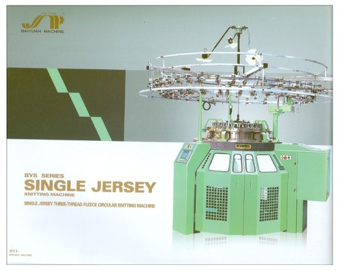 Computerized Single jersey Circular Knitting Machine