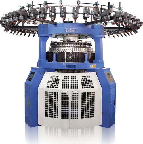 Computerized Rib Circular Knitting Machine.