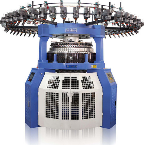 Computerized Rib Circular Knitting Machine.