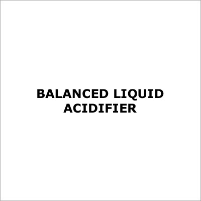 Balanced Liquid Acidifier