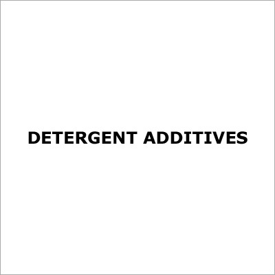 Detergent Additives