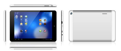 "7.85"" table pc MT8312 Dual Core Mali-400MP wifi 2G/3G Bluetooth"