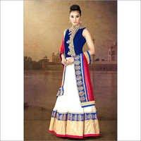 Blue Color Anarkali Salwar suit