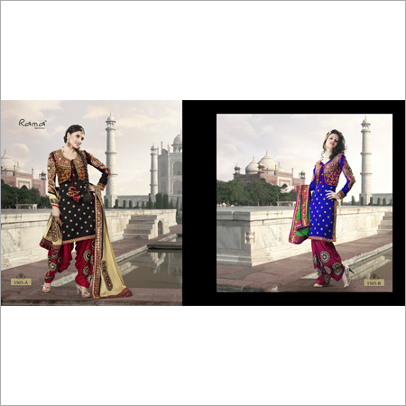 Anarkali Style Salwar Suit Dress