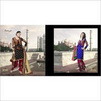 Anarkali Style Salwar Suit Dress