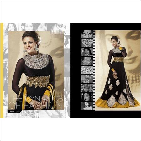 Designer Floor Length Long Anarkali Suit