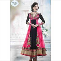Net Georgette Anarkali Suit