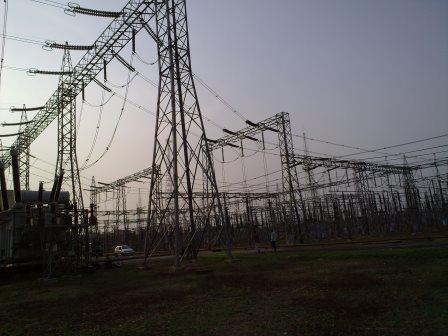 Substation Gantry Tower