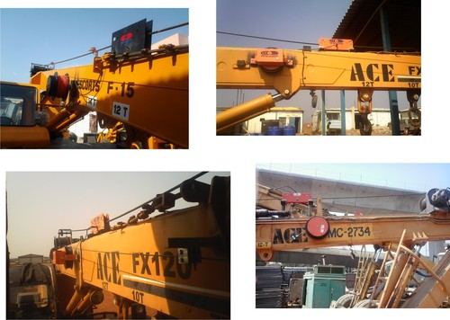 Rated Capacity Indicator (RCI) system for Pick & Carry (Hydra) Cranes