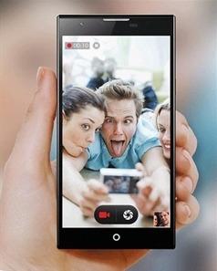 Smartphone 64bit 4G LTE MTK6752 Octa Core 5.2 Inch FHD Screen 13.2MP Black
