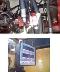 Total Movement Indicator for Forklift Crane