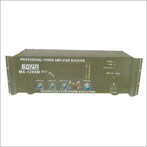 High Power Booster-Two Zone Amplifiers