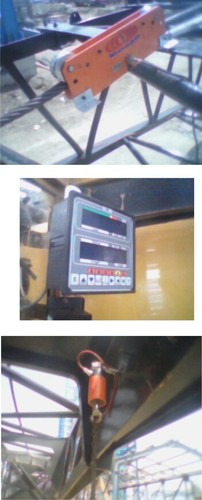 Total Movement Indicator system for Gantry Crane