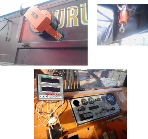 Total Movement Indicator for Rail Road Cranes