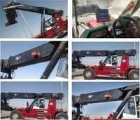 Total Movement Indicator for Reach Stacker cranes