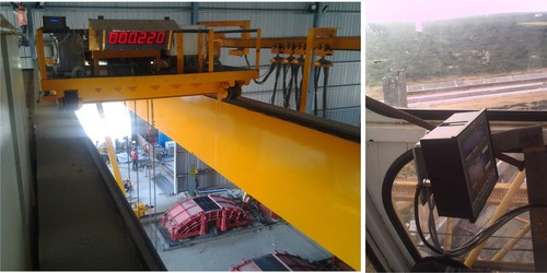 Total Movement Indicator system for Semi Gantry Crane