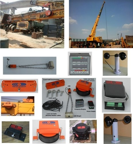 Total Movement Indicator systems for mobile cranes