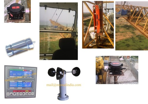 Total Movement Indicator systems for tower crane