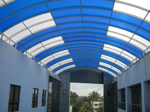 Polycarbonate Sheet Roofing Work