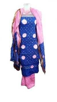 Fancy Cotton Satin Dress