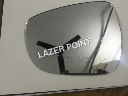 Side Mirrors Laser Marking