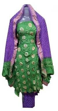 Gadwal Silk Dress Material