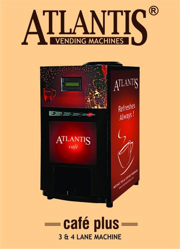 Atlantis Cafe Plus 4 Lane Hot Beverage Machine