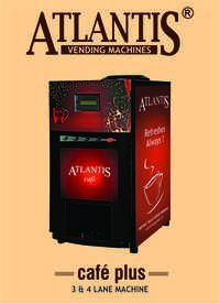 Atlantis Cafe Plus 4 Lane Hot Beverage Machine