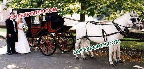 Wedding Stylish Horse Buggy