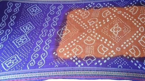 Traditional Art Silk Bandhani