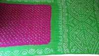 Traditional Bandhani Silk Saree