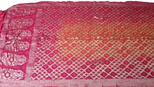Traditional Banarasi Bandhani saree