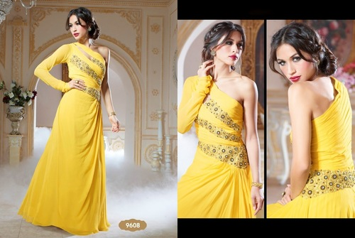 Latest Embroidered Gowns